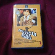 Cine: JUSTICIA PARA TODOS VHS ORIGINAL DE VIDEOCLUB. Lote 100601843