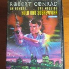 Cine: VHS ASSASSIN (1986) DE SANDOR STERN. CON ROBERT CONRAD. COMO NUEVA. Lote 100623759