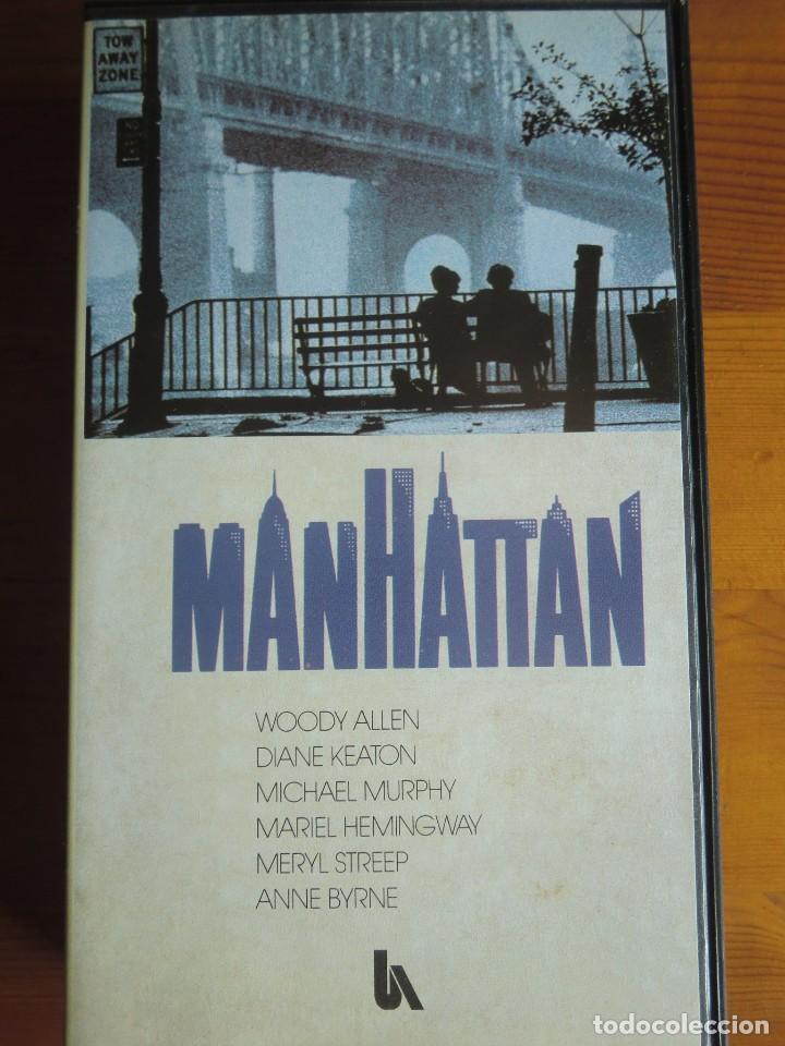VHS MANHATTAN (1979) DE WOODY ALLEN. CON DIANE KEATON. ¡NUEVA! (Cine - Películas - VHS)