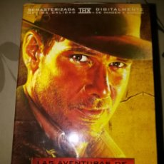 Cine: PACK INDIANA JONES EN VHS, TRILOGÍA ORIGINAL.. Lote 101156334