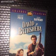 Cine: DAVID Y BATHSHEBA. Lote 101161547