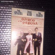 Cine: DIVORCIO A LA AMERICANA. Lote 101162579