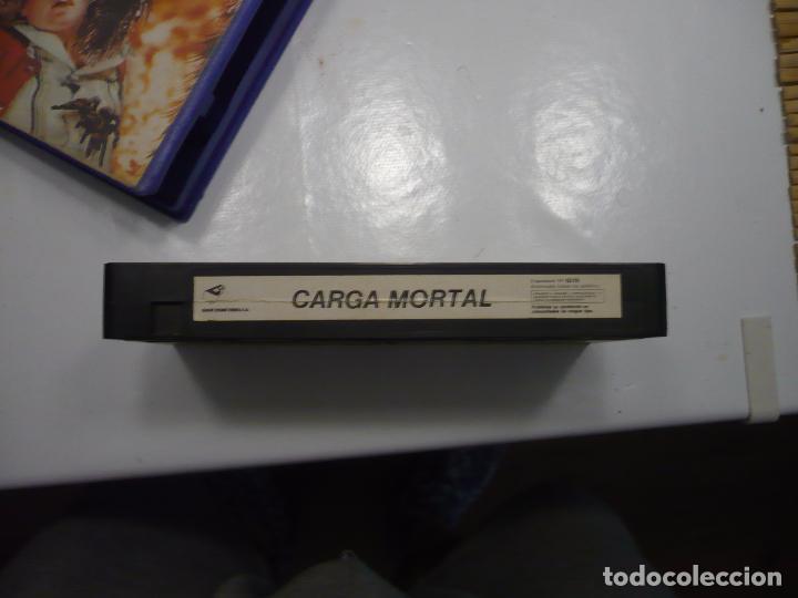 Cine: Carga mortal (1977) VHS. - Foto 6 - 18154789