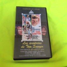 Cine: LAS AVENTURAS DE TOM SAWYER VHS. Lote 101404940