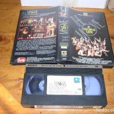 Cine: VHS THE MOVIE A CHORUS LINE. Lote 101504095