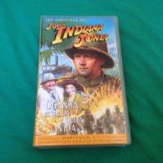 Cine: LAS AVENTURAS DEL JOVEN INDIANA JONES CAPITULO 11 VHS OGANGA EL QUE DA Y QUITA LA VIDA. Lote 101534431