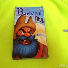Cine: BARBAZUL VHS DIBUJOS ANIMADOS. Lote 101535638