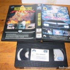 Cine: VHS MUERTE SOBRE RUEDAS VHS WHEELS OF TERROR. Lote 102054507