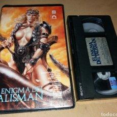 Cine: EL ENIGMA DEL TALISMAN- VHS- ESPADAS Y BRUJERIA- DIR: ALEX SESSA (UNICA EN TC). Lote 102067411