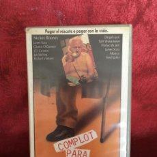 Cine: COMPLOT PARA UN SECUESTRO VHS 1º EDICIÓN (8). Lote 102071615