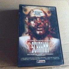 Cine: SCHRAMM GORE SERIE B (PELICULA VHS ORIGINAL) CINTA KREATEN TERROR SANGRIENTO. Lote 102423127
