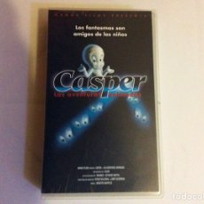 Cine: PELÍCULA CASPER, LAS AVENTURAS ANIMADAS. VHS. MANGA FILMS. Lote 102718288
