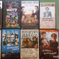Cine: LOTE 10 PELÍCULAS VHS WOODY ALLEN.. Lote 103047975
