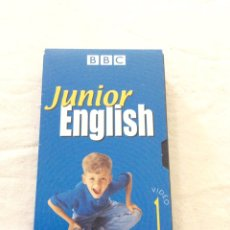 Cine: BBC, JUNIOR ENGLISH. VIDEO 1 . VHS. Lote 103293500