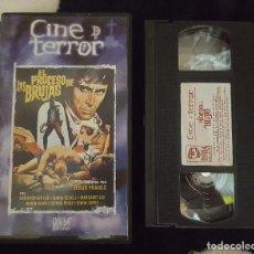 Cine: VHS - EL PROCESO DE LAS BRUJAS . Lote 103343191