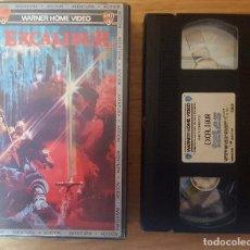 Cine: VHS - EXCALIBUR. Lote 103689455