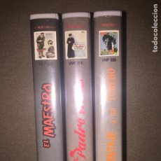 Cine: TRES VHS CINE ESPAÑOL. Lote 103699490