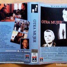 Cine: CARÁTULA DE VHS. OTRA MUJER. WOODY ALLEN.. Lote 103702615