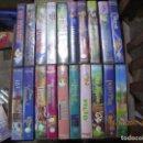 Cine: LOTE 20 CLÁSICOS DE DISNEY VHS POCO USO.. Lote 103748431