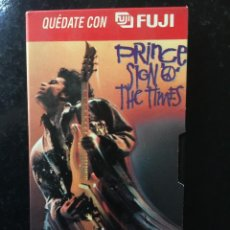 Cine: VHS. PRINCE. SIGN THE TIMES. Lote 103935603