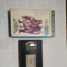 Cine: VHS EL TURISTA ACCIDENTAL. Lote 103985263