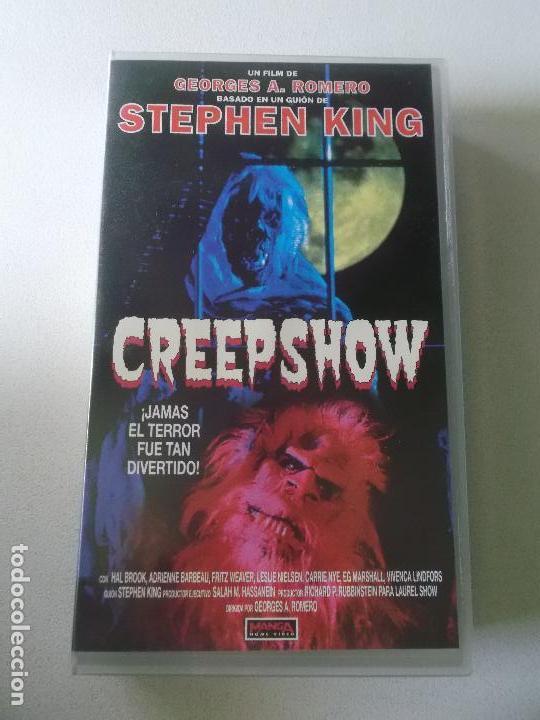 STEPHEN KING CREEPSHOW ORIGINAL (Cine - Películas - VHS)