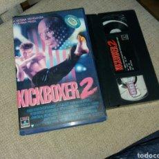 Cine: KICKBOXER 2- VHS - ALBERT PYUN- CAJA GRANDE. Lote 104408000