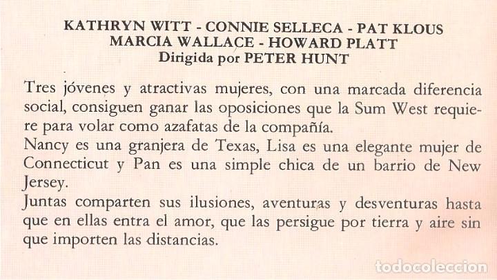 Cine: ALTOS VUELOS - 1978 - UNICA EN TC - KATHRYN WITT, CONNIE SELLECA - Foto 2 - 104446975