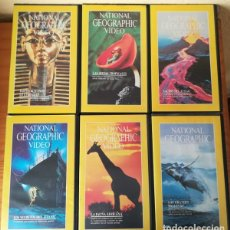 Cine: NATIONAL GEOGRAPHIC VIDEO. LOTE 36 VIDEOS VHS GEOGRAFIC COLECCION. Lote 104492435
