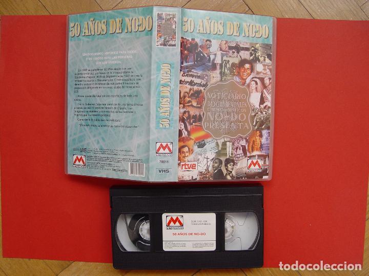 CINTA VÍDEO VHS: 50 AÑOS DE NO-DO (METROVIDEO, 1994) ¡ORIGINAL! ¡COLECCIONISTA! (Cine - Películas - VHS)