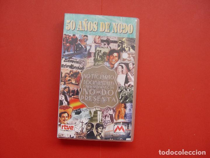 Cine: Cinta vídeo VHS: 50 AÑOS DE NO-DO (Metrovideo, 1994) ¡ORIGINAL! ¡COLECCIONISTA! - Foto 3 - 104595103