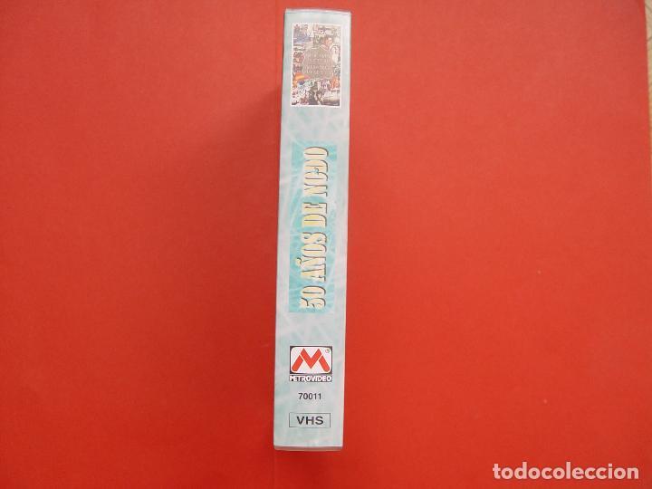 Cine: Cinta vídeo VHS: 50 AÑOS DE NO-DO (Metrovideo, 1994) ¡ORIGINAL! ¡COLECCIONISTA! - Foto 4 - 104595103