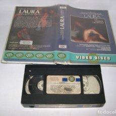 Cine: VHS LAURA FILM DAVID HAMILTON. Lote 104709187