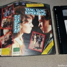 Cine: TANG YANG KIPERBANG- VHS- DIR: MICHAEL APTED- DESCATALOGADA. Lote 104975310
