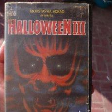 Cine: HALLOWEEN 3:EL DIA DE LA BRUJA (1982) VHS.. Lote 128388547