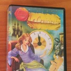 Cine: LA CENICIENTA. PELICULA VIDEO VHS ANIMACION DIBUJOS ANIMADOS. Lote 117546442