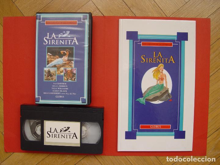 LOTE LIBRO Y CINTA VÍDEO VHS: LA SIRENITA (GLOBUS, 1994) ¡ORIGINAL! ¡COLECCIONISTA! (Cine - Películas - VHS)