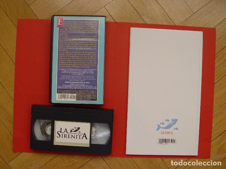 Cine: Lote libro y cinta vídeo VHS: LA SIRENITA (Globus, 1994) ¡ORIGINAL! ¡COLECCIONISTA! - Foto 3 - 105351531