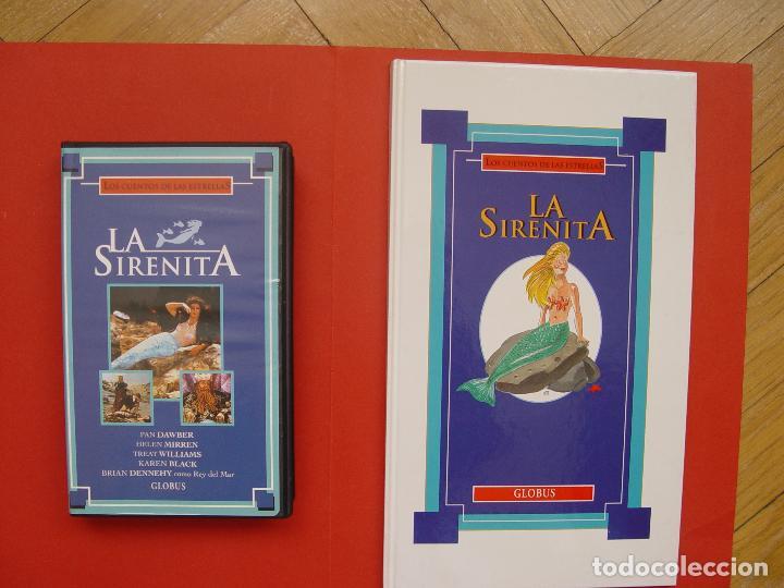 Cine: Lote libro y cinta vídeo VHS: LA SIRENITA (Globus, 1994) ¡ORIGINAL! ¡COLECCIONISTA! - Foto 6 - 105351531