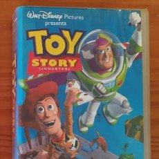 Cine: TOY STORY, JUGUERES. WALT DISNEY. PELICULA VIDEO VHS ANIMACION DIBUJOS ANIMADOS INFANTIL. Lote 105414007