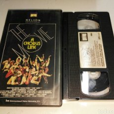 Cine: VHS- A CHORUS LINE THE MOVIE- MICHAEL DOUGLAS RICHARD ATTENBOROUGH. Lote 105433195