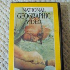 Cine: NATIONAL GEOGRAPHIC VIDEO 22 VHS EL LEGADO DE L.S.B. LEAKEY. Lote 105876131