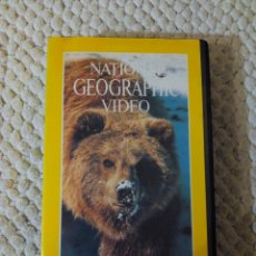 Cine: NATIONAL GEOGRAPHIC VIDEO 25 VHS EL OSO PARDO. Lote 105876523