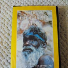 Cine: NATIONAL GEOGRAPHIC VIDEO 27 VHS LOS ABORIGENES DE AUSTRALIA. Lote 105877675