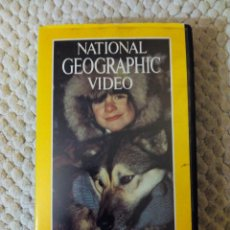 Cine: NATIONAL GEOGRAPHIC VIDEO 35 VHS DESAFIANDO ALASKA. Lote 105880795