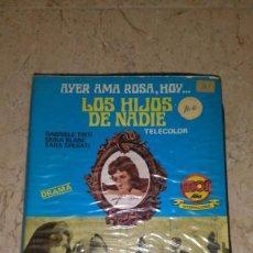 Cine: LOS HIJOS DE NADIE VHS. Lote 105887267