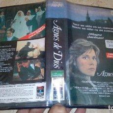 Cine: AGNES DE DIOS VHS. Lote 105887487