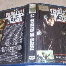 Cine: LA VENGANZA DE ULZANA VHS. Lote 105887799