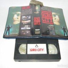 Cine: VHS GIRO CITY. Lote 105924227