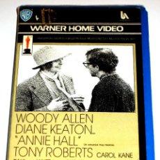 Cine: ANNIE HALL (1977) - WOODY ALLEN DIANE KEATON TONY ROBERTS CAROL KANE VHS 1ª EDICION. Lote 106598023
